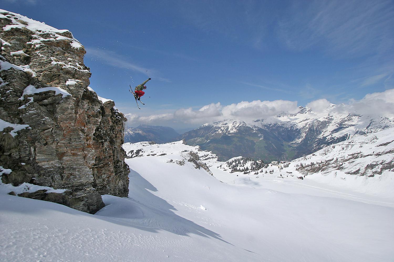 Extreme Skiing - Sports Photography by Tomek Gola - Gola.PRO