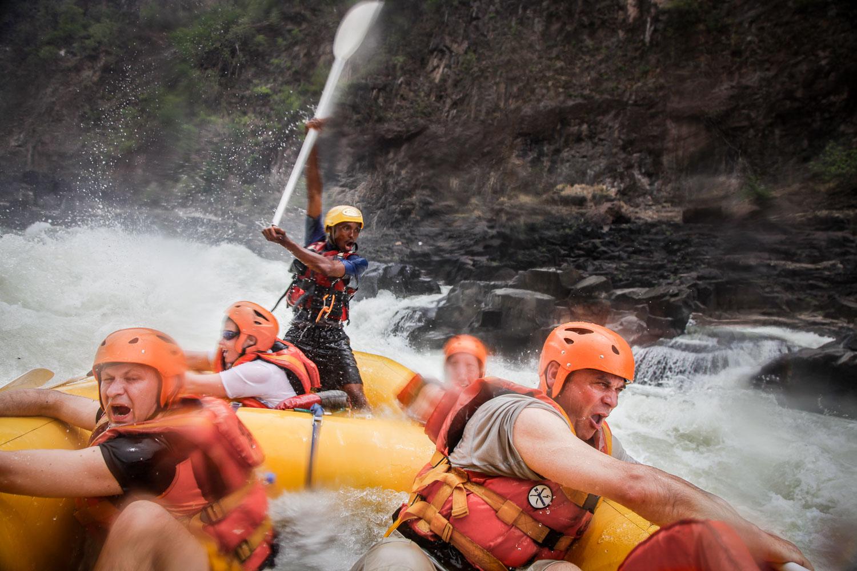 White Water Rafting on Zambezi by Tomek Gola - Gola.PRO