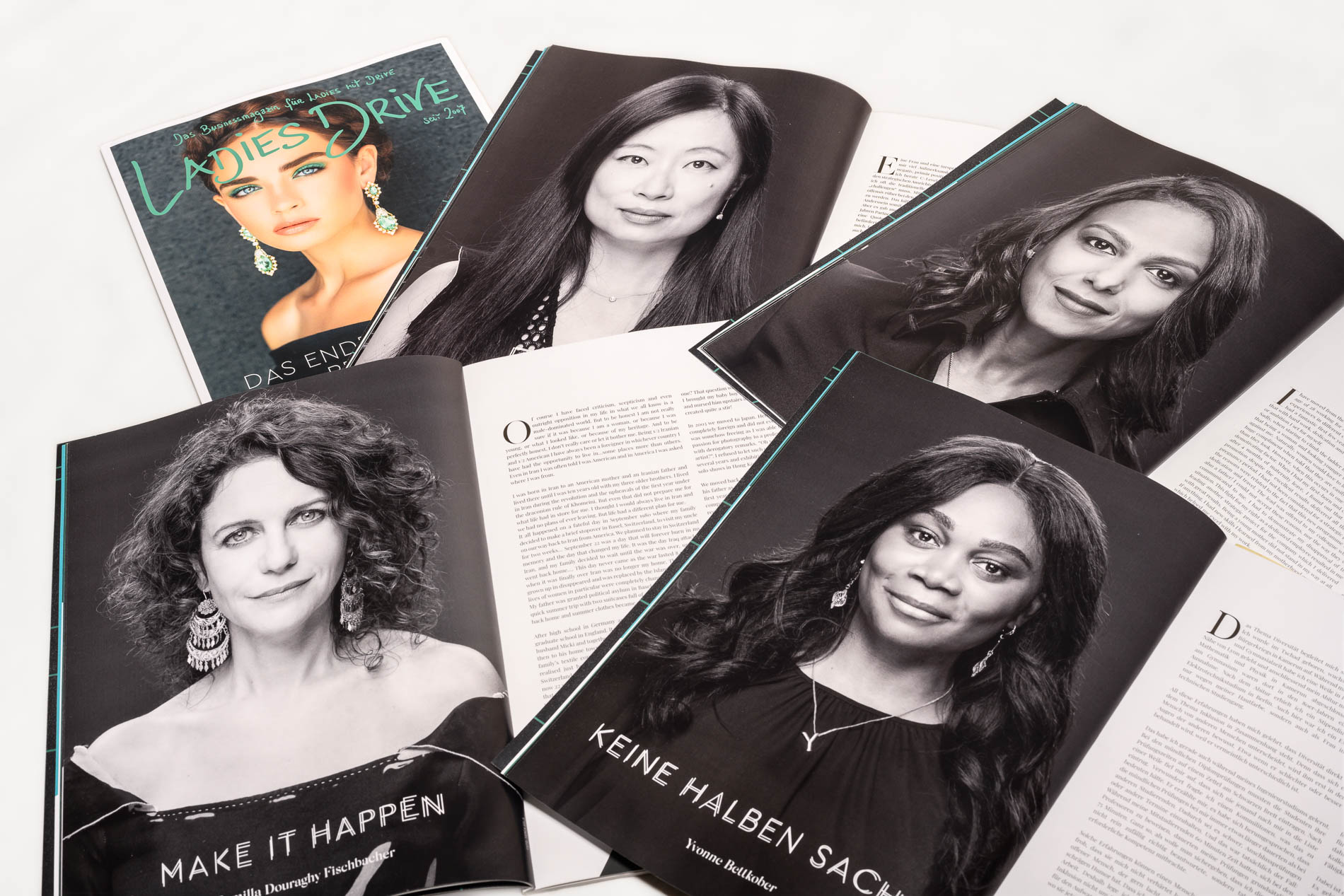 Portraits of Diversity in Ladies Drive Magazine