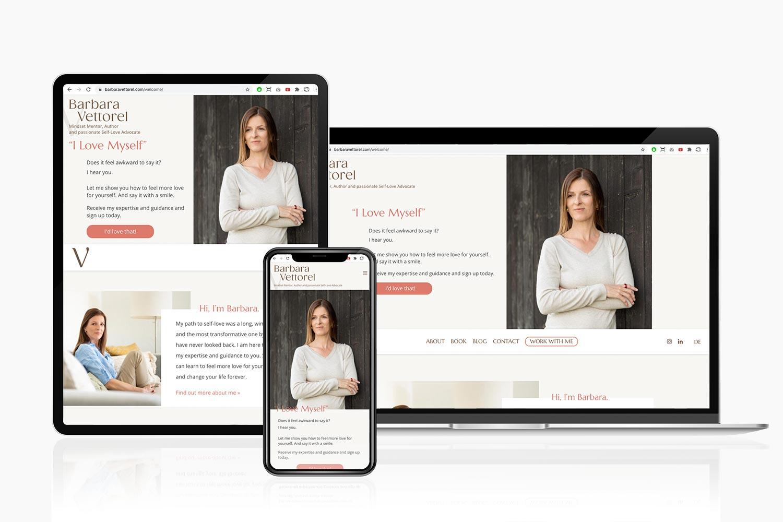 Barbara Vettorel website by Gola.PRO