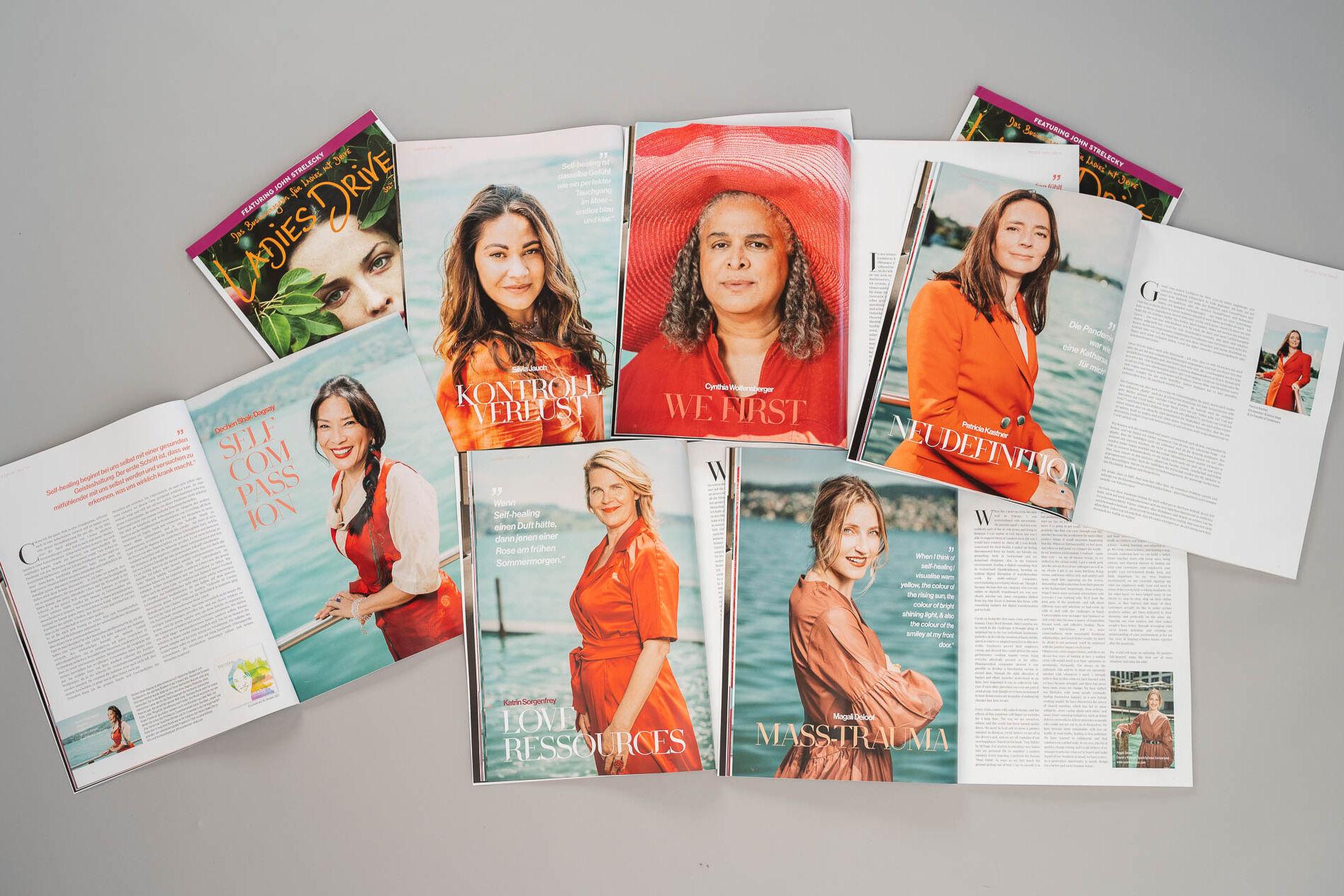 Portraits of Self-Healing for Ladies Drive Magazine by Tomek Gola / Gola.PRO